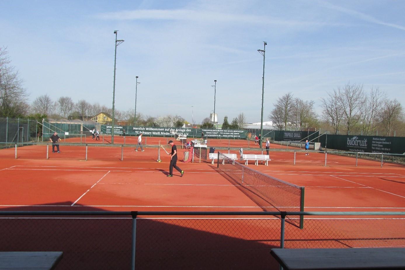 Tennisforce II gravelbaan