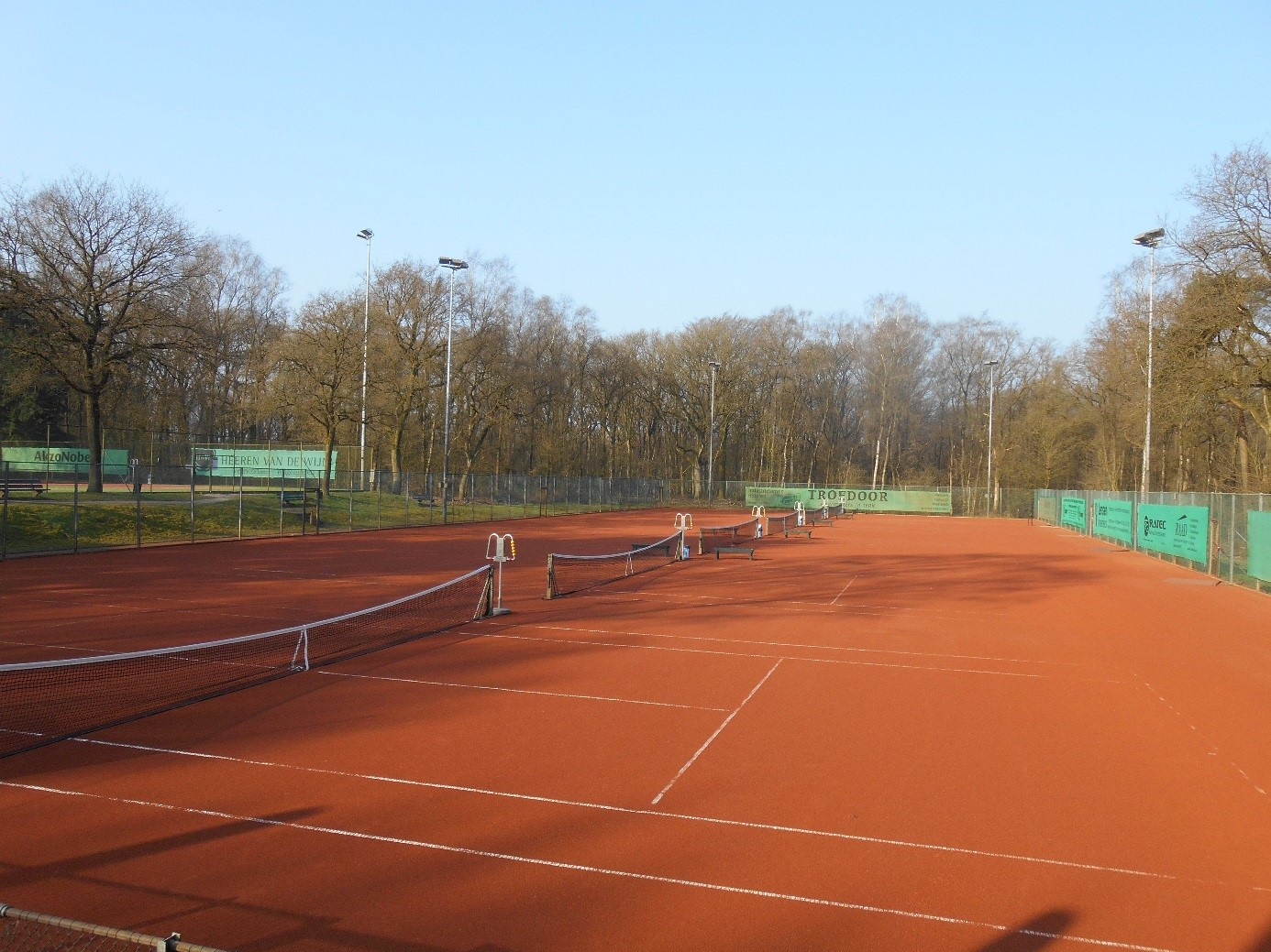 gravel plus premium tennisbaan